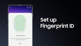 Galaxy S10: How to set up Fingerprint ID