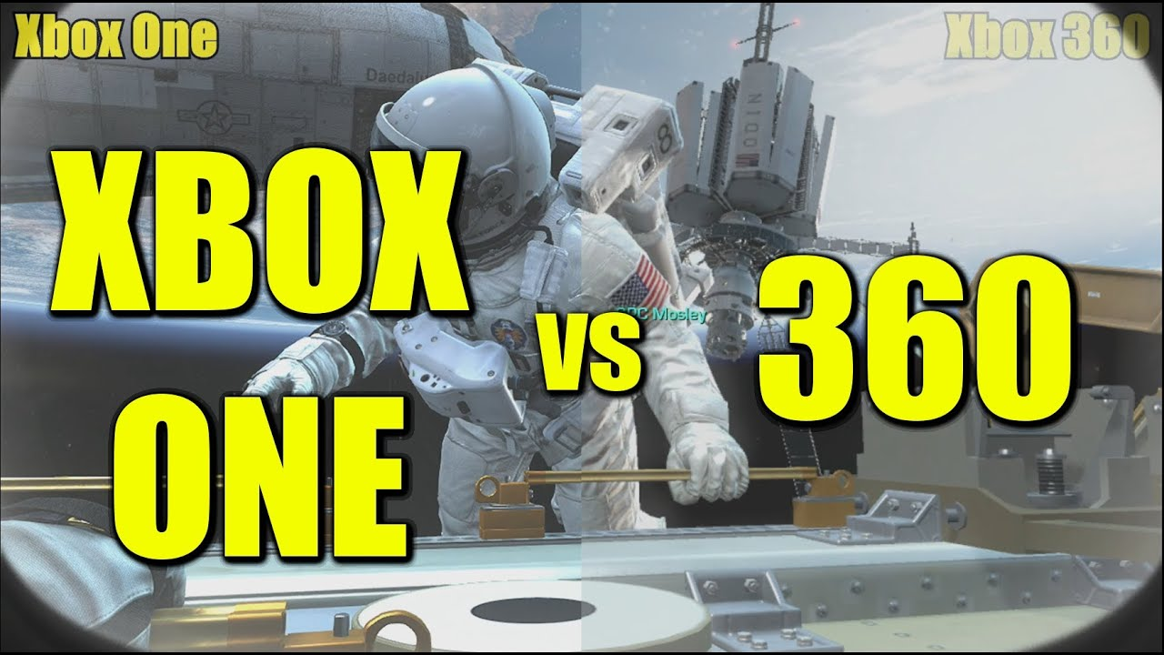 Xbox One vs 360 Graphics Comparison [Cod Ghosts: Xbox One ...