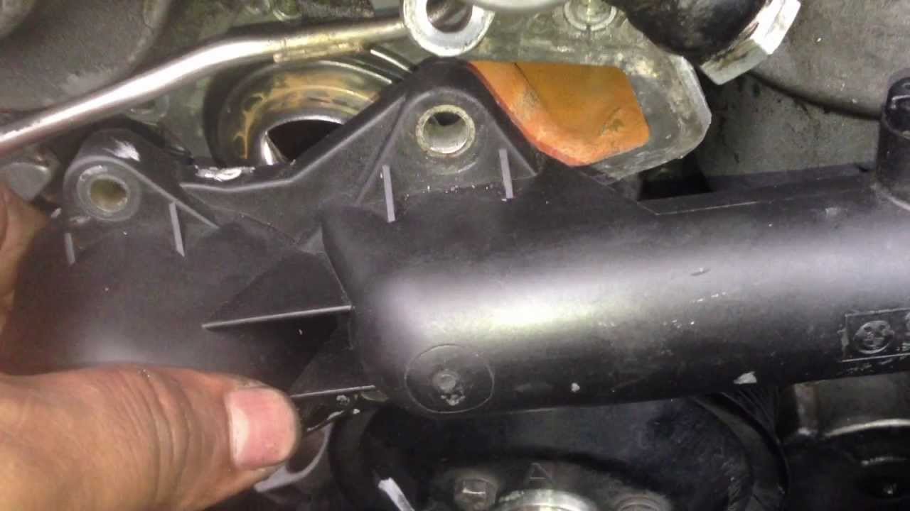 How To Remove Thermostat Housing 97 03 Bmw 5 Series E39