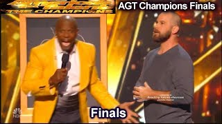 Jon Dorenbos magician Part B & Judges Comments   America's Got Talent Champions Finals AGT
