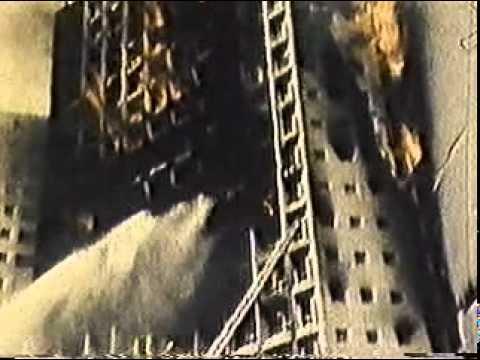 Incendio no Edificio Joelma em São Paulo centro