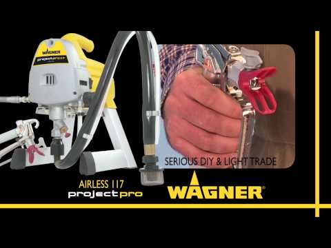 Wagner Airless Range - Project 115 & ProjectPro 117 & 119
