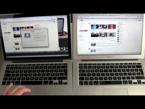 Retina MacBook Pro vs MacBook Air