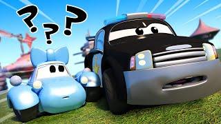 đội xe tuần tra - Katy nhí bị lạc - Thành phố xe 🚗 những bộ phim hoạt hình về xe tải