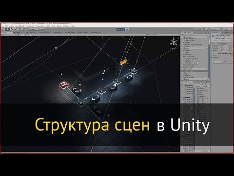 Структура сцен в Unity на примере игры Spreadstorm