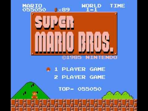 Super Mario Bros - Super Mario Bros (NES) - Vizzed.com Play - User video