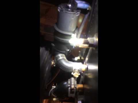 Deere 455 Heater plumbing