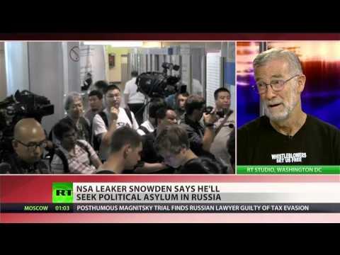 NSA leaker Snowden requests political asylum in Russia
