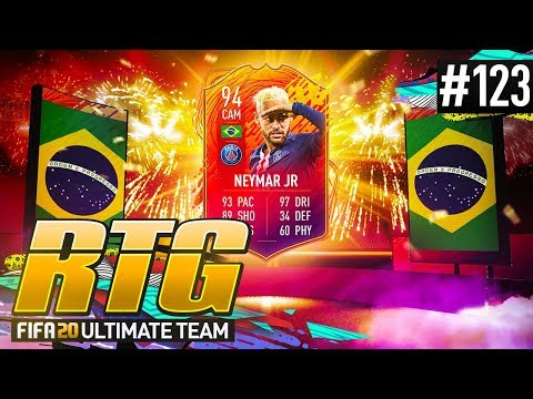 I PACKED HEADLINER NEYMAR! - #FIFA20 Road to Glory! #123 Ultimate Team