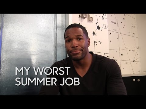 My Worst Summer Job: Michael Strahan