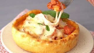 Deep Dish Pizza Bowl