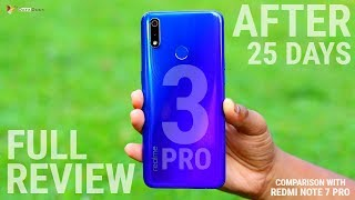 Realme 3 Pro Full Review After 25 Days of Use | Comparison with Redmi Note 7 Pro | Hindi | Data Dock