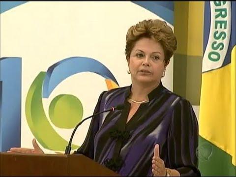 Dilma Rousseff afirma que quer acelerar o crescimento econômico do Brasil