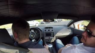 Lamborghini Gallardo élményvezetése
