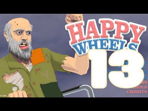 HAPPY WHEELS - HAPPY WHEELS: Episodio 13