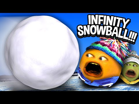 Annoying Orange - Infinity Snowball (with...