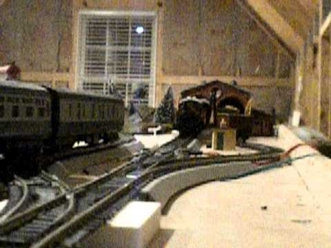 My 0-4-0 shunter from hornby pulling some wagons