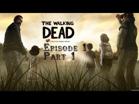 The Walking Dead: the game. Ep.1, Part 1: Упыр-апокалипсис.