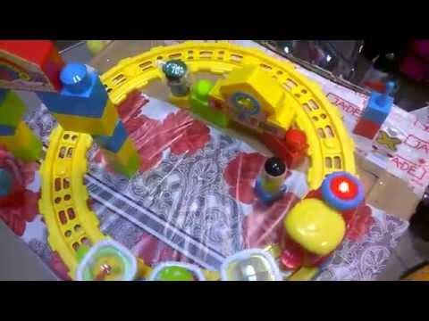 Железная дорога игрушка интерактивная