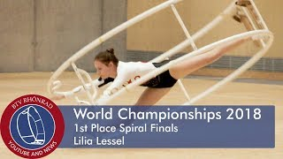 World Championships in Gymwheel 2018 Final Spiral Lilia Lessel