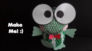 3d Origami Keroppi Tutorial