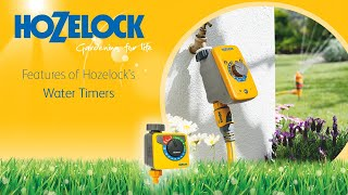 Hozelock Timer Overview - 2705, 2700, 2703