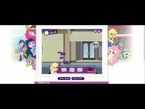 Game | My Little Pony Equestria Girls Dash for the Crown Walkthrough | My Little Pony Equestria Girls Dash for the Crown Walkthrough