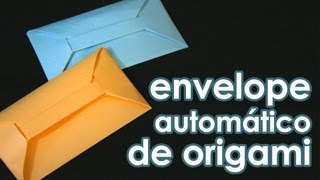 Envelope Automtico De Origami