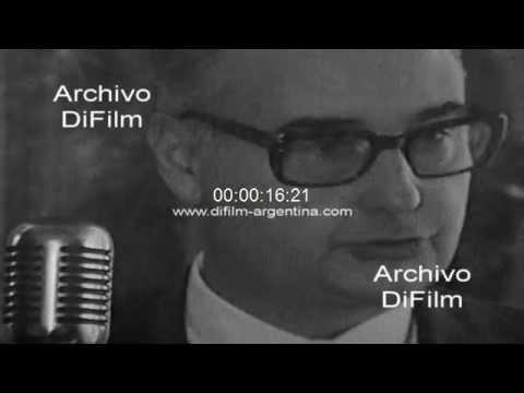 DiFilm - Juan Alemann lucha contra la evasion impositiva 1977