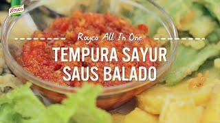 Resep Royco - Tempura Sayur Saus Balado