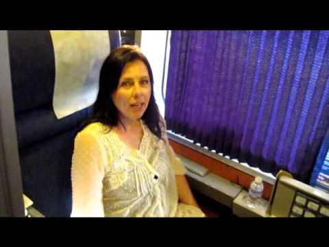 Amtrak Train Sleeper Car Roomette Tour - GypsyNester.com