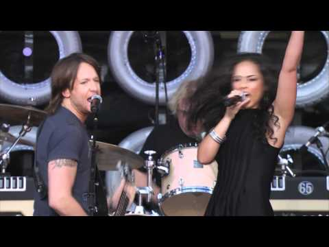 Keith Urban & Alicia Keys Gimme Shelter Live Earth New York 07.07.2007