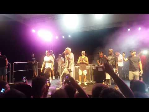 Vacca ft. Jamil - Ne voglio di più live Cologno Rugby Festival 22/06/17