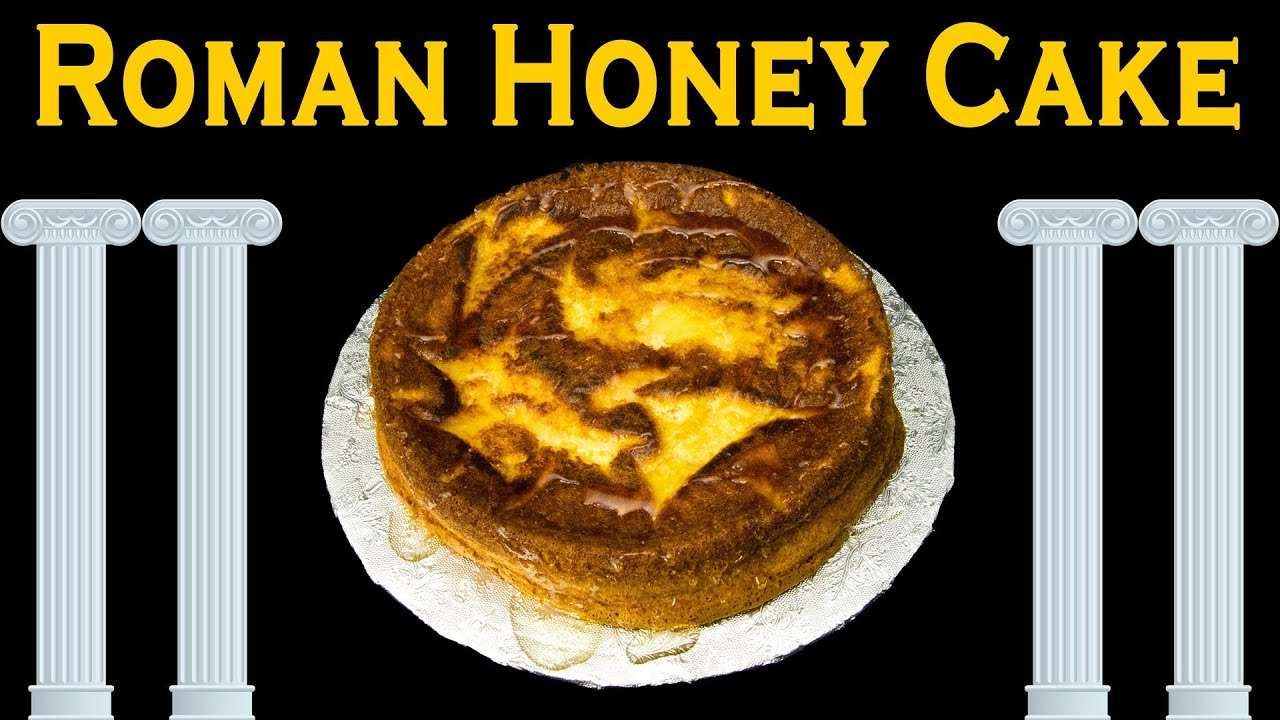 Roman honey cake from cookies cupcakes and cardio youtube for Ancient roman cuisine history