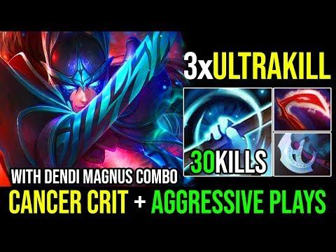 3xUltrakills SUPER AGGRESSIVE PLAYS 31KILLS [Phantom Assassin] Cancer Crit With RP By Nine | Dota 2