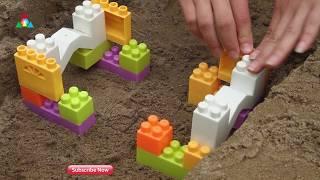 Bridge construction machinery bridge| excavator toys