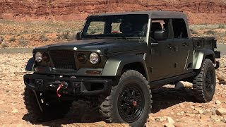 2016 Jeep Crew Chief 715 Concept 1st. drive in Moab