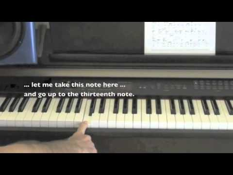 http://learning-to-sing, Lesson 1, Music Theory (Part 1)