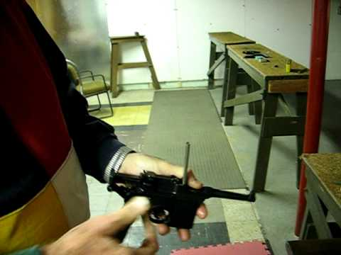 Mauser Broomhandle  C-96 Pistol Intro