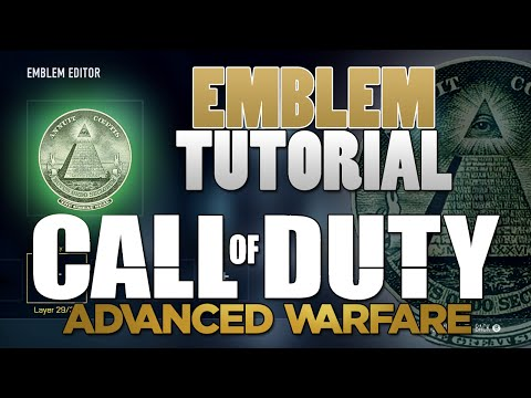 Illuminati Emblem Tutorial - Call of Duty: Advanced Warfare