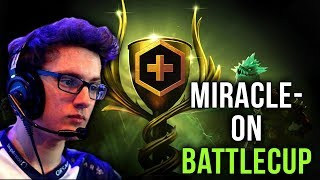 Miracle- Battle Cup - New Favourite Hero = New Secret Weapon for Liquid? Dota 2