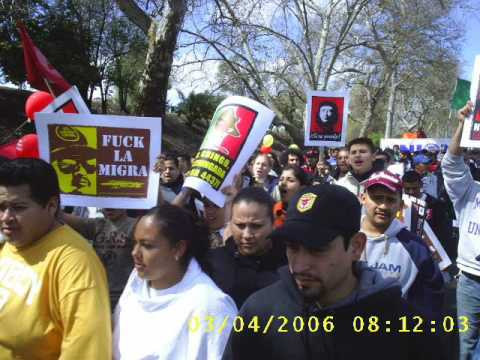 César Chávez and Immigrants' Rights  March 2006- Sacramento