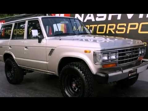 1988 Toyota Land Cruiser Nashville Tn 37204 Youtube
