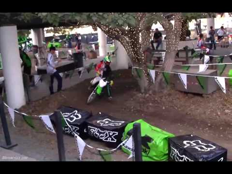 2010 Kawasaki KLX110 & KLX110L Motorcycle Review Video