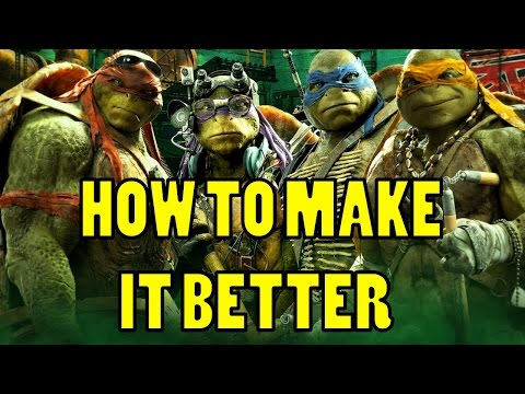 RMN: How To Make TMNT 2014 BETTER