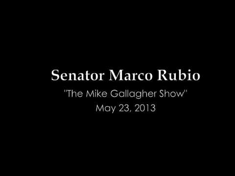 Senator Rubio on Immigration Reform w/ Mike Gallagher