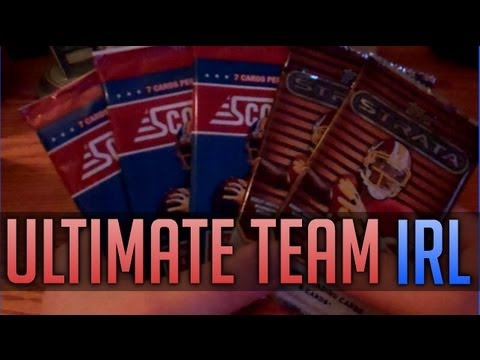 Ultimate Team IRL - PACK OPENING!!!