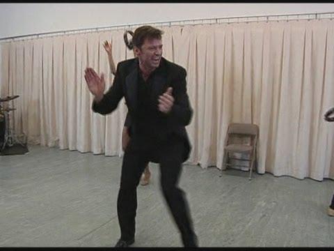 Hugh Jackman's Broadway rehearsals