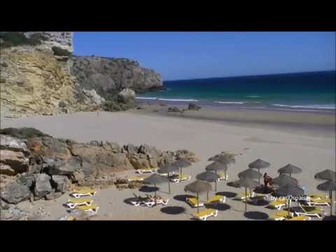 Praia Zavial Vila do Bispo Algarve Portugal (HD)
