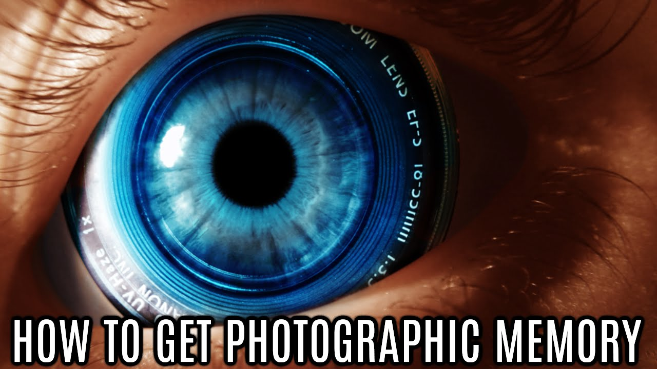 How to get a memory photographic